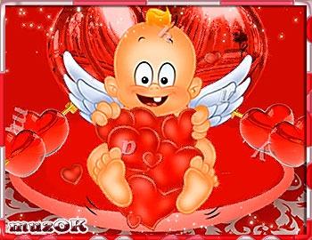 Очень красивое и веселое видео поздравление с Днем влюбленных для друзей в подарок