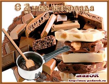 Всемирный день шоколада. 11 июля. Краткая история.