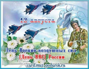 Галерея анимационных открыток с Днем ВВС
